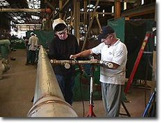 Pipefitters fabricate and construct piping systems.