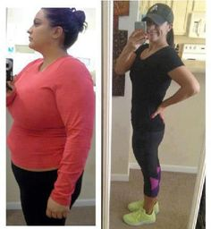 """amberbethinny: """" This is Lisa showing off her transformation since January 2012. 77 pounds! I think it's safe to say that she is happy she decided that 2012 was her year :) It's a thrill. """" um holy shit this is awesome"""