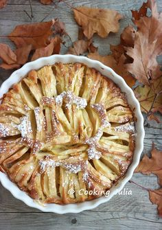 Je suis toujours partante pour faire un gâteau aux pommes, les préférés de mes hommes, mais j'aime bien tout de même pouvoir proposer de nou...