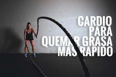 Ejercicios cardiovasculares para quemar grasa rápido. #Training #Fitness #tips