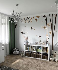 [New] The 10 Best Home Decor (with Pictures) - How do you design a children's room? Baby Boy Rooms, Baby Bedroom, Little Girl Rooms, Baby Room Decor, Girls Bedroom, Bedroom Decor, Baby Room Design, Room Inspiration, Home Decor
