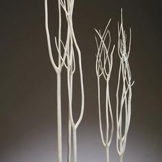 decor; Mitsumata white bleached branches
