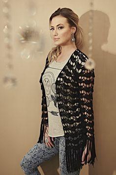 Inspirações de Croche com Any Lucy: Kimono