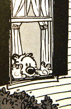 Calvin and Hobbes #illustration #popculture #comics #calvinandhobbes