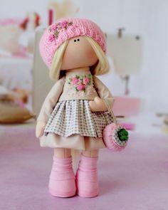 Fabric Dolls, Rag Dolls, Rag Doll Tutorial, Pretty Dolls, Love Pictures, Harajuku, Mini, Cute, Handmade