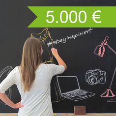 Erzählt eure Geschichte bei #ebayinspiriert und gewinnt bis zu 5.000-Euro-PayPal-Guthaben!