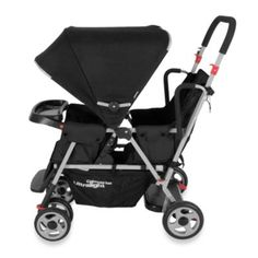 Joovy® Caboose Too Ultralight Stand-On Tandem Stroller in Black - buybuyBaby.com