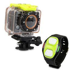 Mini caméra sport télécommandé caisson waterproof 30m Full HD 1080P bbb4c60c52b5