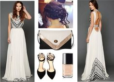 """""""Open Back Prom"""" by hippielovesdaisy on Polyvore"""