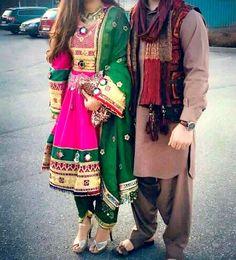 #afghan #style #dress #couple