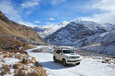 As the Himalayas await the spring, here are 4 winter road trips you can take for some scenic thrills and chills. Get going!