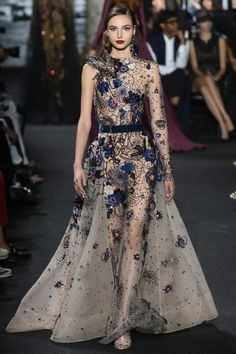 Elie Saab Fall 2016 Couture Catwalk