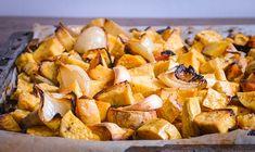 Tepsis batáta – rostélyos beütéssel | Kertkonyha - Vegetáriánus receptek képekkel