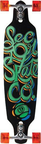 Standard Skateboards - Sector 9 Fraction Complete Skateboard Green 90Inch x 360Inch *** To view further for this item, visit the image link.