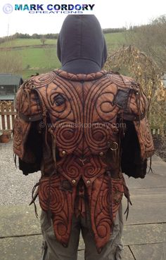 LARP - LRP Leather Jacket made by Mark Cordory Creations. www.markcordory.com