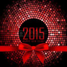 Vector 2015 de fondo con luces de discoteca de color rojo y la cinta photo
