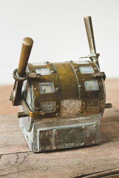Ship's mechanical telegraph