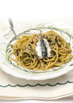 Pasta con le sarde - cooking it now :)
