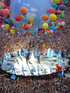 I want to go to a Take That concert!