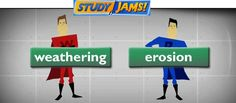Scholastic StudyJams video on Weathering and Erosion. They also have videos for Landforms and Soil. The videos are awesome and use superheroes to explain the concepts.