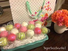 How to make Cake Pops match your theme decor!  Fun Cake Pops, Birthday Cake Pops