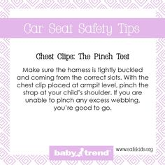 Great Car Seat Safety Tips!
