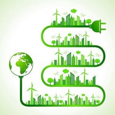 Illustration about Illustration of ecology concept with brain- save nature. Illustration of clean, energy, ecology - 34603847 Uses Of Solar Energy, Solar Energy System, Vector Verde, Save Nature, Energy Projects, Sustainable Energy, Poster On, Poster Ideas, Energy Efficiency