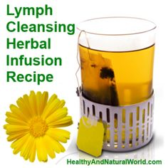 lymph cleansing  -  -  -  http://www.healthyandnaturalworld.com/lymph-cleansing-herbal-infusion-recipe/