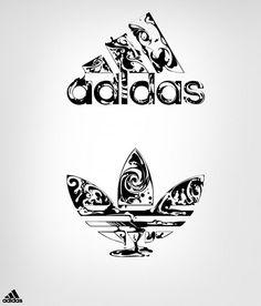 Pinterest Product Placement -Adidas illustration design