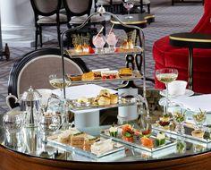 Edinburgh's finest afternoon tea - Colonnades at the Signet Library, Edinburgh