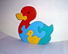 Tree toy Wooden toy 3D puzzle Wooden puzzles by FamilyWoodenToys