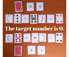 Order of Operations War With Just A Deck of Cards