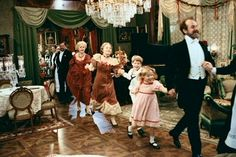 Fanny and Alexander (Fanny och Alexander) - Swedish (1982) Director: Ingmar Bergman - A family's ups and downs, focus on the two children