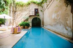 Your swimming pool was fun when you first put it in. Add some swimming pool additions - it may make it exciting again. Pergola Designs, Pool Designs, Piscine Coque Polyester, Pool Plaster, Marrakesh, Free Hotel, Gunite Pool, Intex Pool, Pool Cleaning