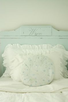 Cutest bed with Little girl's name