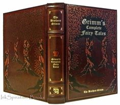 Image result for leather bound fairy tale books