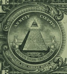 Who owns the world reserve currency, the dollar, the global monetary hegemony? Look at the Satanic capstone on your dollar bill. The Lucifer...
