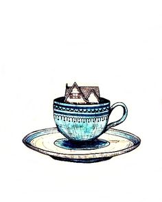 a house is not a home without tea!