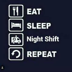 Life of a night shift nurse