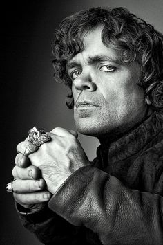 Peter Dinklage as Tyrion Lannister, Game of Throne. He's great.
