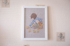 Cross-stitch Belle and Boo Easter by AlexAndKateHandmade on Etsy
