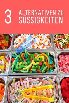 Mit diesen drei Alternativen zu Süßigkeiten nie mehr in Versuchung nach Süßem kommen.
