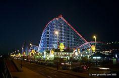 Blackpool Pleasure Beach and Prom