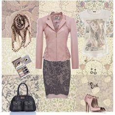 """Pink Powder"" by cleodelinda on Polyvore"