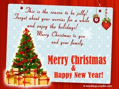 Inspirational Christmas Messages, Wishes and GreetingsExpress your sincerest gratitude to the ones you love, by sending inspirational Christmas messages. Christmas is the season of spreading love and joy, and the season of forgiving. Each one has touched our lives in every way, appreciate them and…