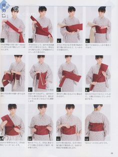 How to tie a kai no kuchi with a hanhaba obi, an easy musubi that looks great on guys and kakkoi on women. One of my favourites for girls.