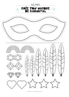 Kit pour faire un masque de carnaval - Momes.net