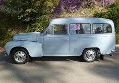 Learn more about Power Wagon: 1966 Volvo Duett on Bring a Trailer, the home of the best vintage and classic cars online. Volvo Cars, Classic Cars Online, Vans, Vehicles, Buses, Wednesday, Lego, Light Blue, Favorite Things