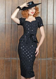 Stop Staring! Faith Black Dress