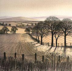 Kathleen Caddick Etchings Paintings